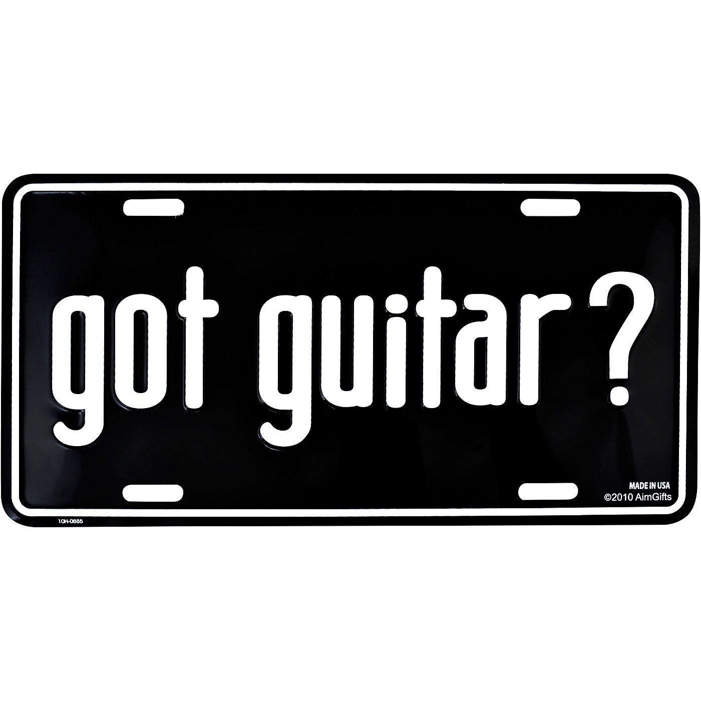 AIM Got Guitar? License Plate thumbnail