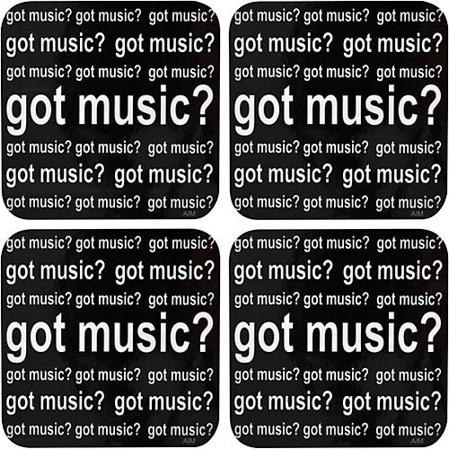 AIM Got Music Vinyl Coaster 4 Pack thumbnail