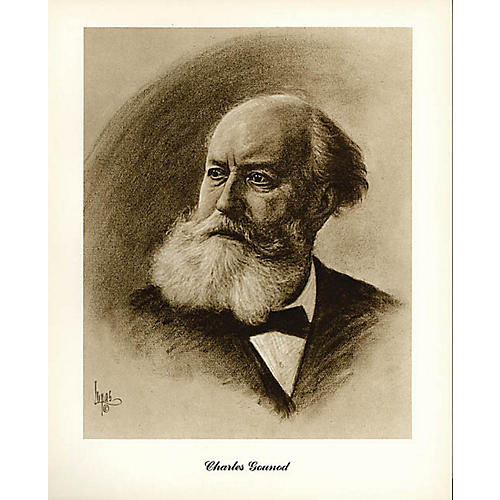 Music Sales Gounod (Lupas Small Portrait Poster) Music Sales America Series thumbnail