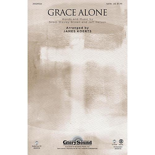 Shawnee Press Grace Alone Studiotrax CD Arranged by James Koerts thumbnail