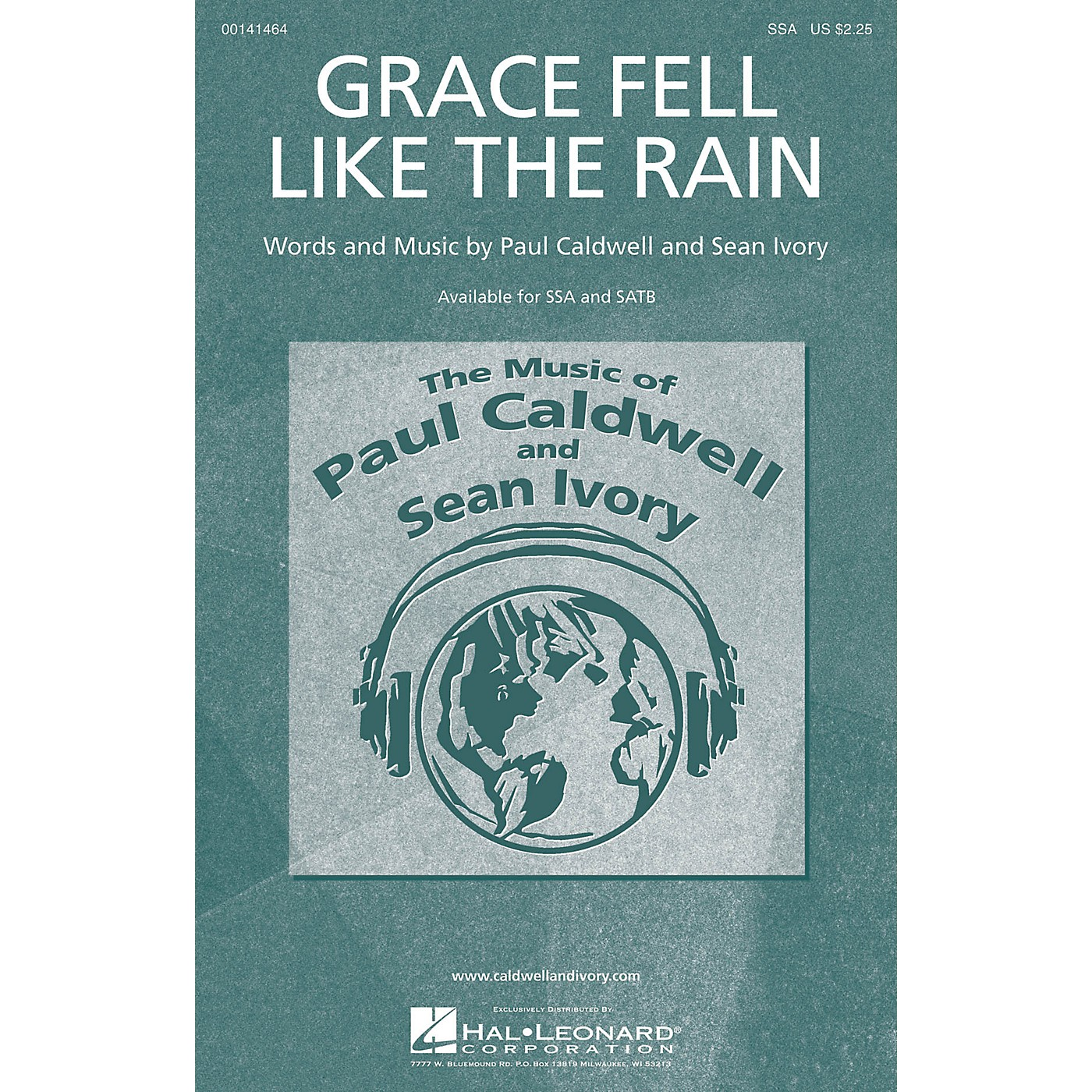 Caldwell/Ivory Grace Fell Like the Rain SSA composed by Paul Caldwell thumbnail