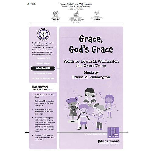 Jubal House Publications Grace, God's Grace (from The Five Solas) UNIS/2PT composed by Edwin M. Willmington thumbnail