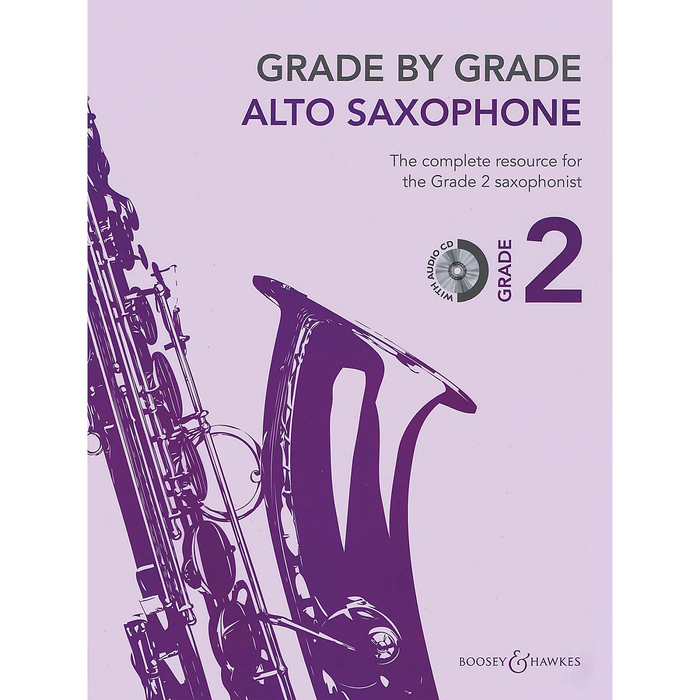 Boosey and Hawkes Grade by Grade - Alto Saxophone (Grade 2) Boosey & Hawkes Chamber Music Series Book with CD thumbnail