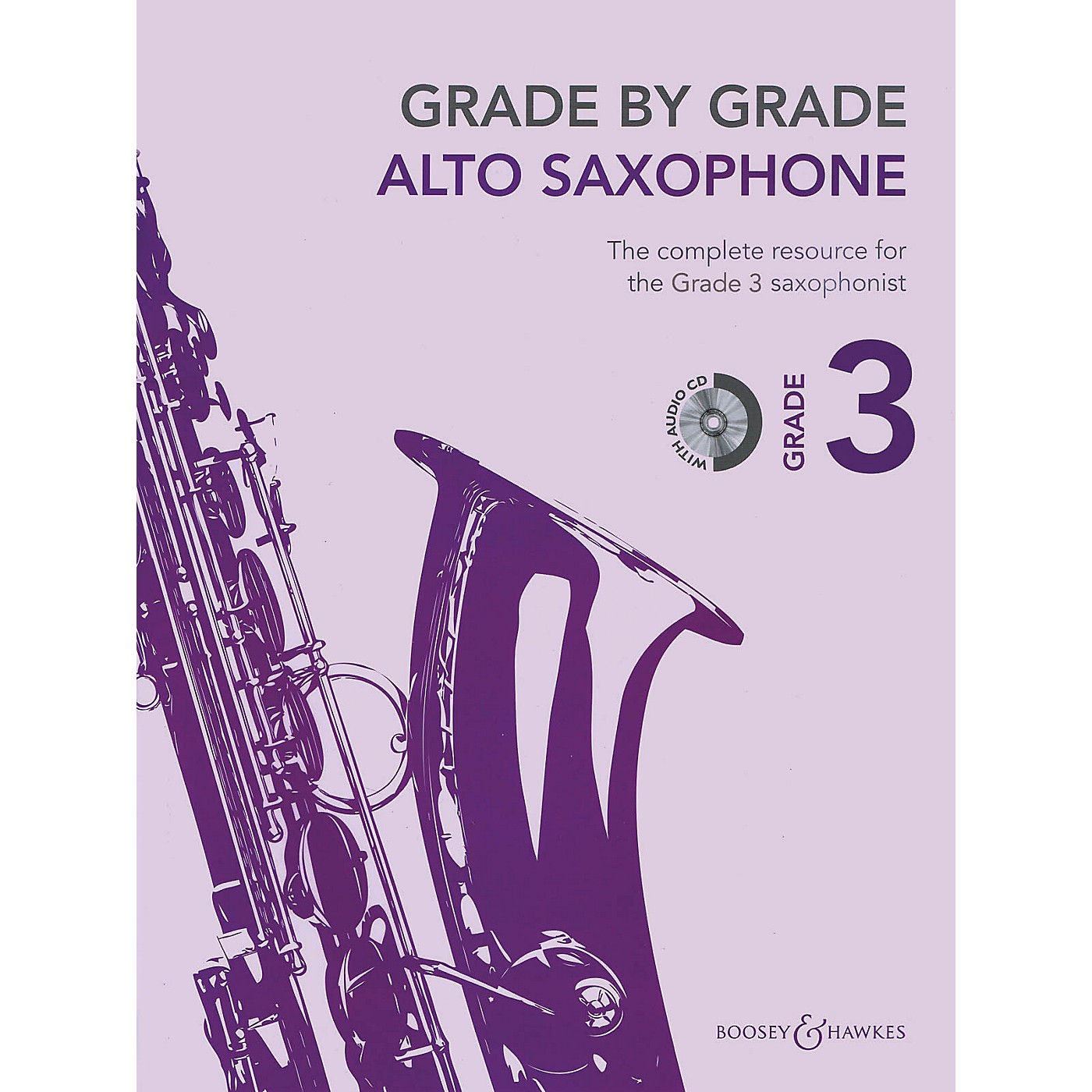Boosey and Hawkes Grade by Grade - Alto Saxophone (Grade 3) Boosey & Hawkes Chamber Music Series Book with CD thumbnail