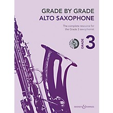 Boosey and Hawkes Grade by Grade - Alto Saxophone (Grade 3) Boosey & Hawkes Chamber Music Series Book with CD