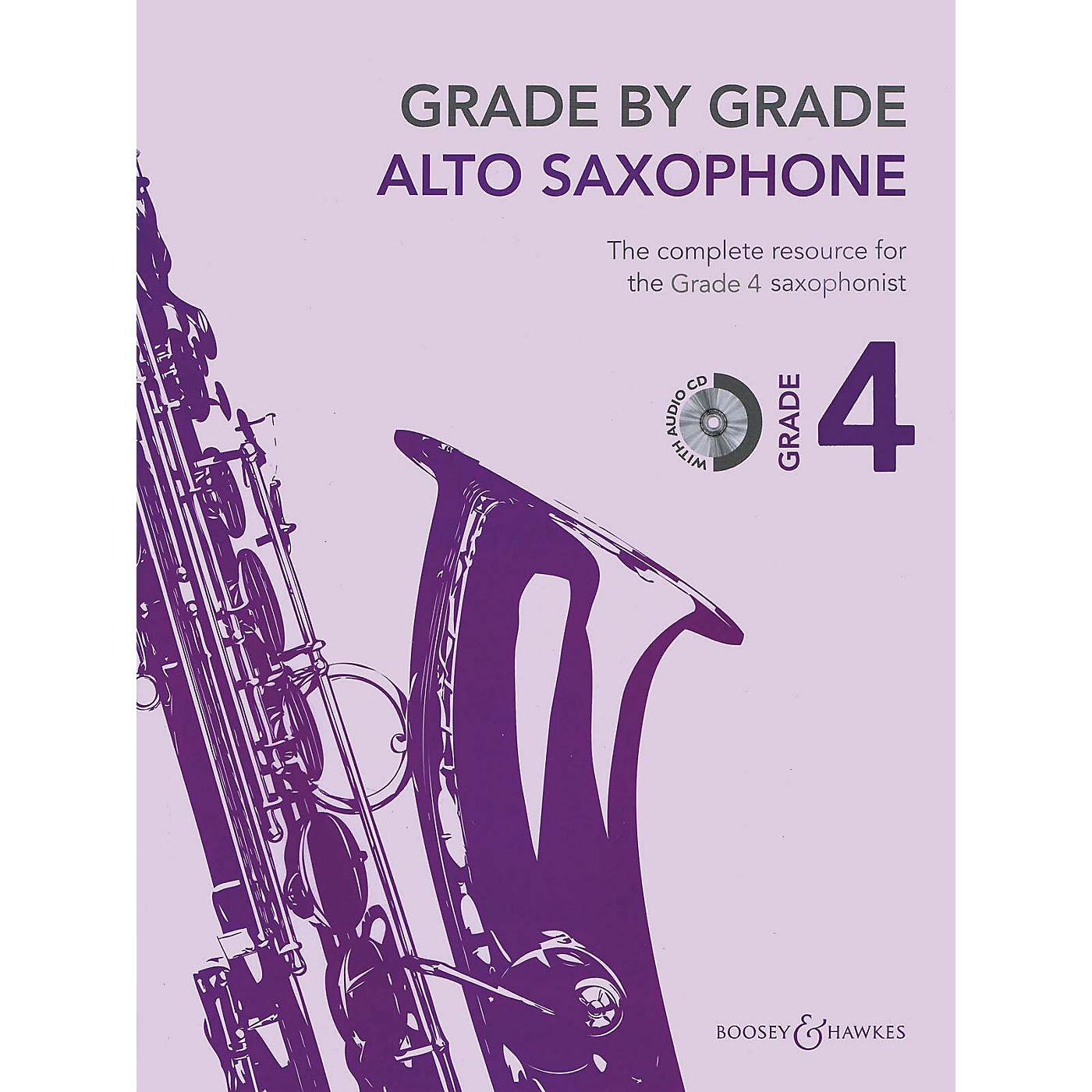 Boosey and Hawkes Grade by Grade - Alto Saxophone (Grade 4) Boosey & Hawkes Chamber Music Series Book with CD thumbnail