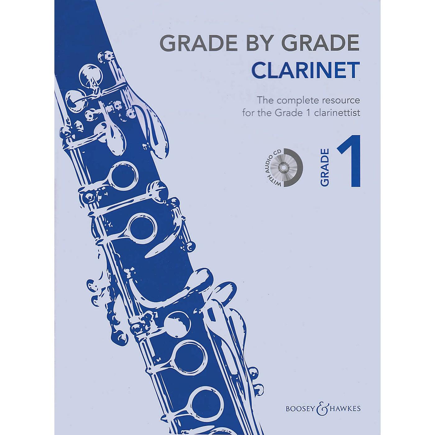 Boosey and Hawkes Grade by Grade - Clarinet (Grade 1) Boosey & Hawkes Chamber Music Series BK/CD thumbnail