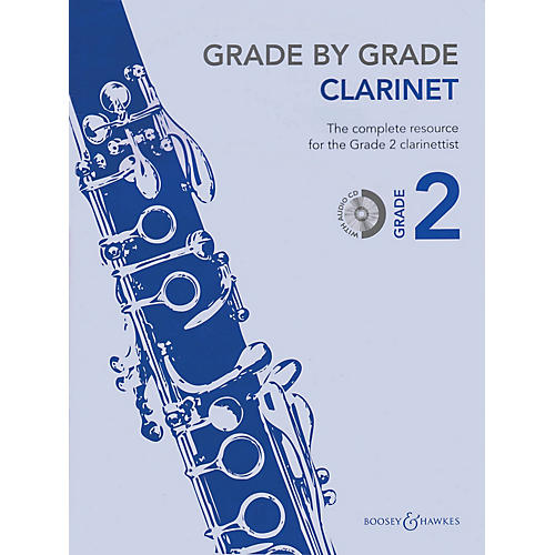 Boosey and Hawkes Grade by Grade - Clarinet (Grade 2) Boosey & Hawkes Chamber Music Series BK/CD thumbnail