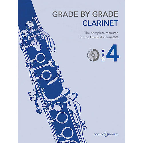 Boosey and Hawkes Grade by Grade - Clarinet (Grade 4) Boosey & Hawkes Chamber Music Series BK/CD thumbnail
