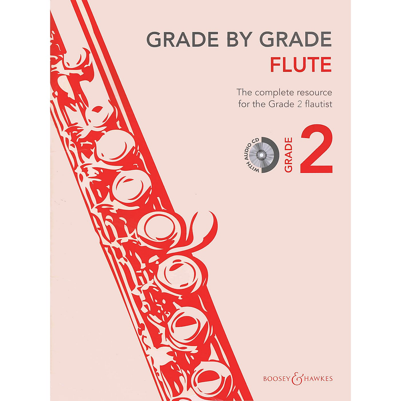Boosey and Hawkes Grade by Grade - Flute (Grade 2) Boosey & Hawkes Chamber Music Series Softcover with CD thumbnail