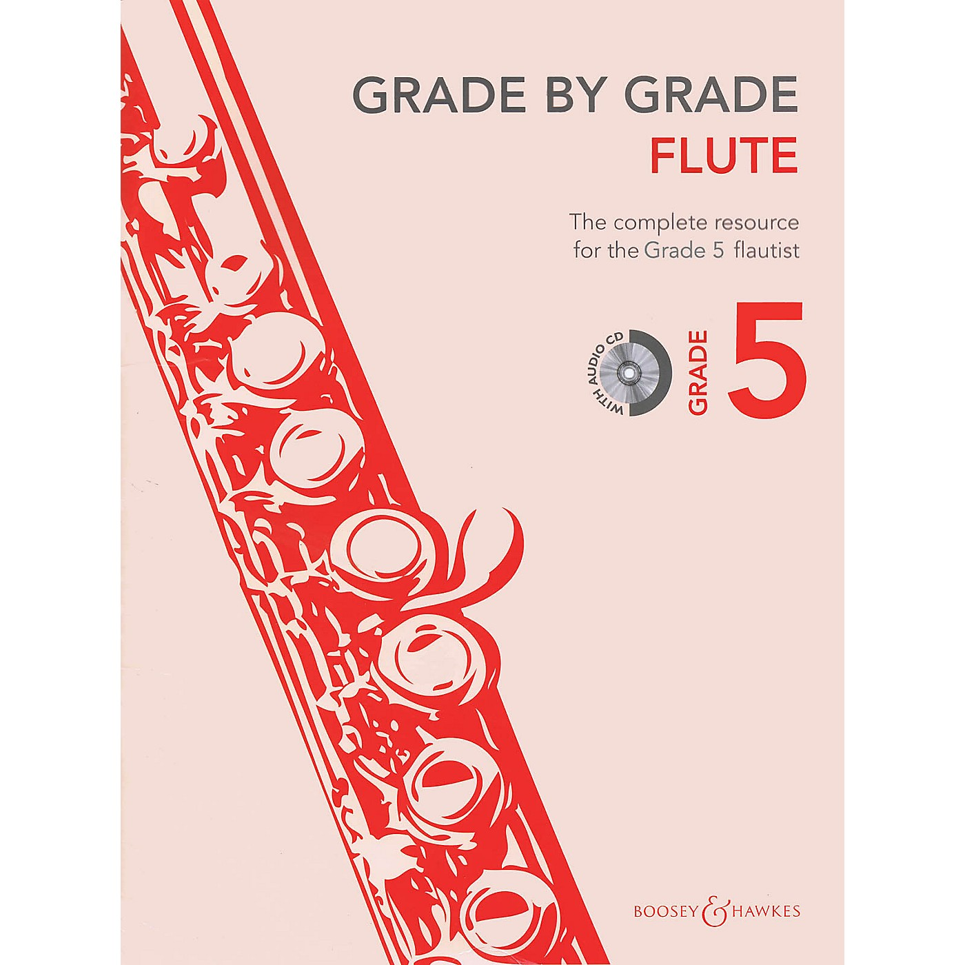 Boosey and Hawkes Grade by Grade - Flute (Grade 5) Boosey & Hawkes Chamber Music Series Softcover with CD thumbnail