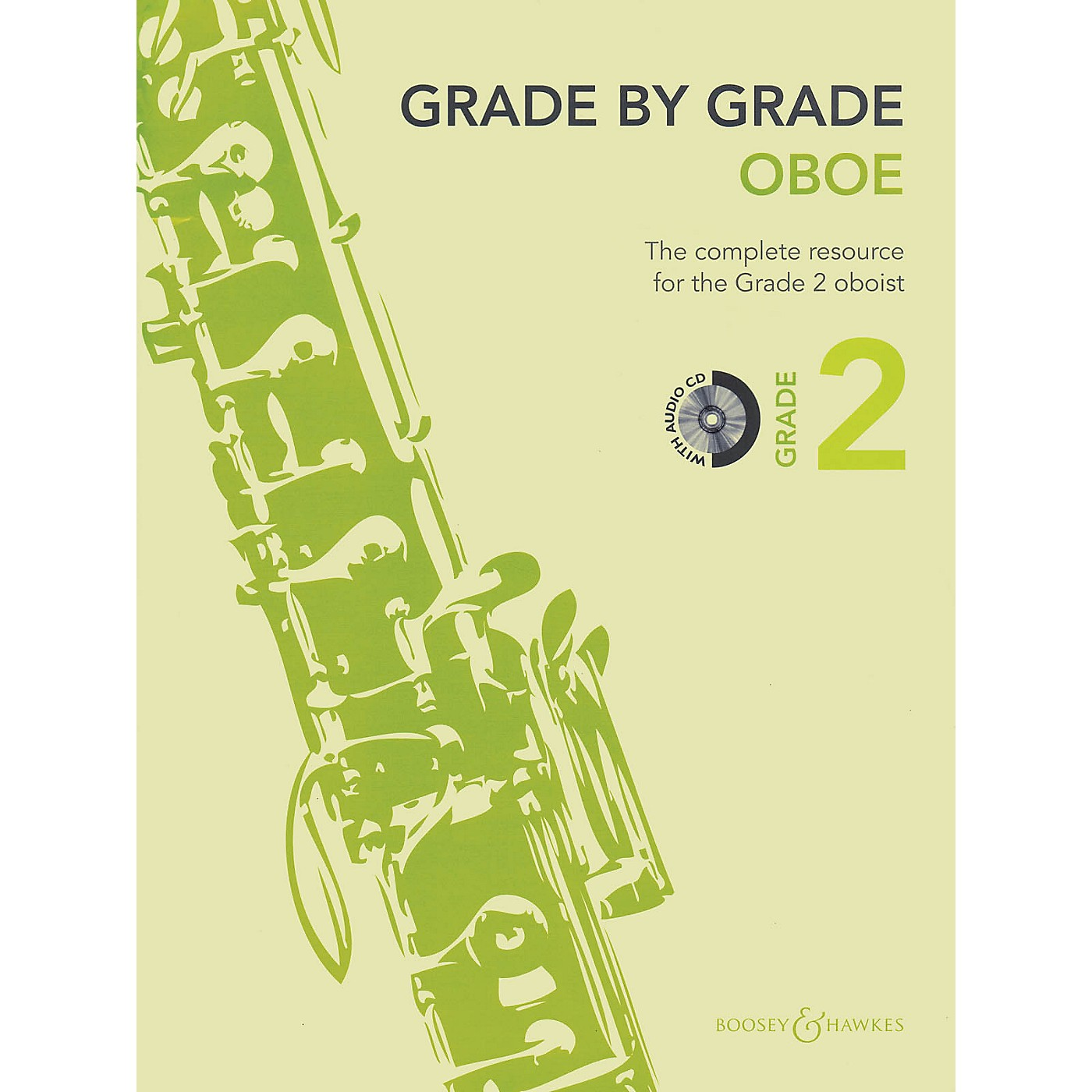 Boosey and Hawkes Grade by Grade - Oboe (Grade 2) Boosey & Hawkes Chamber Music Series BK/CD thumbnail