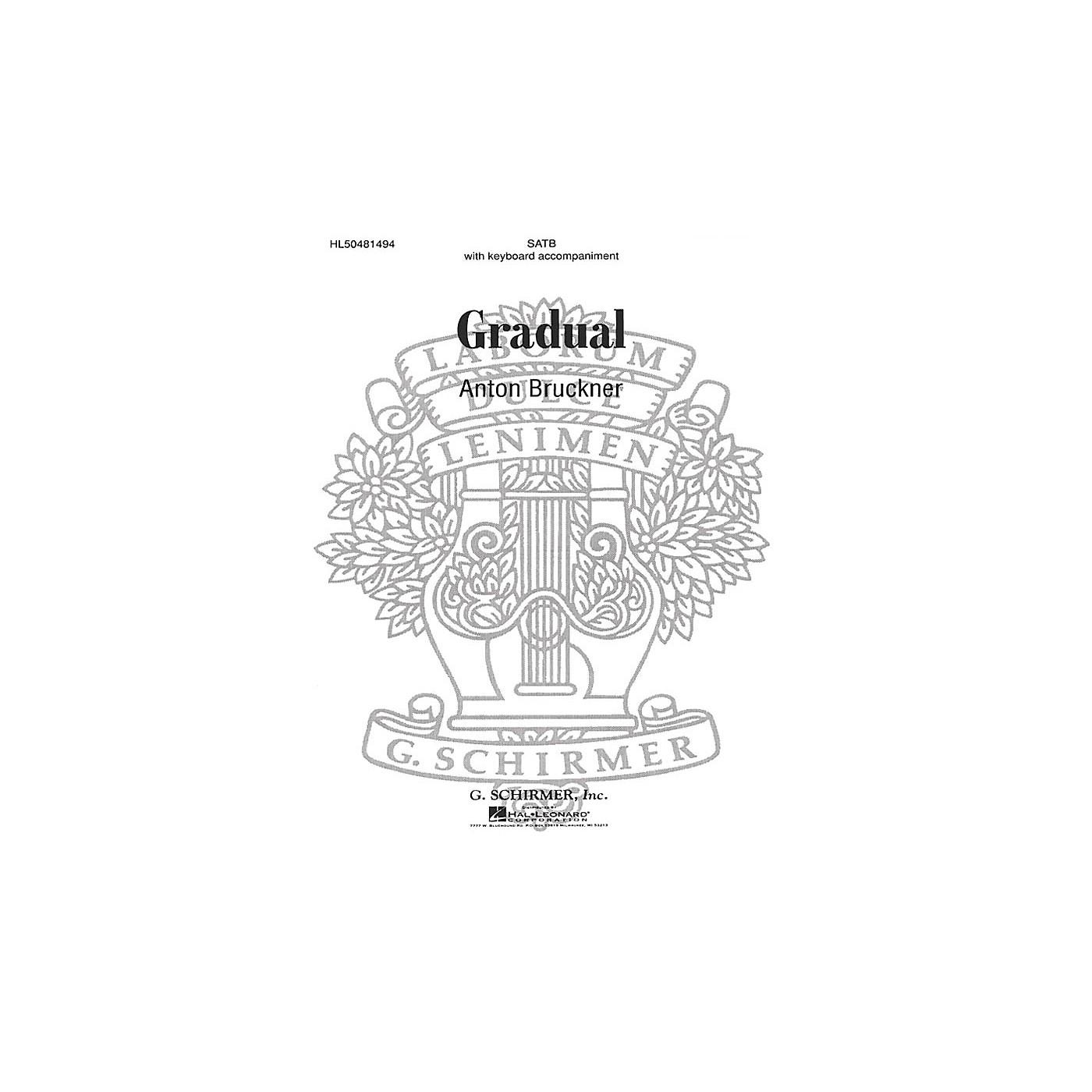 G. Schirmer Gradual composed by A Bruckner thumbnail