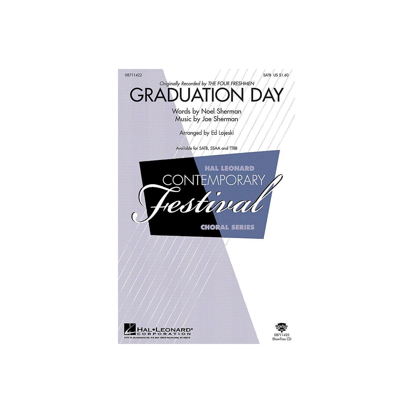 Hal Leonard Graduation Day SATB arranged by Ed Lojeski thumbnail