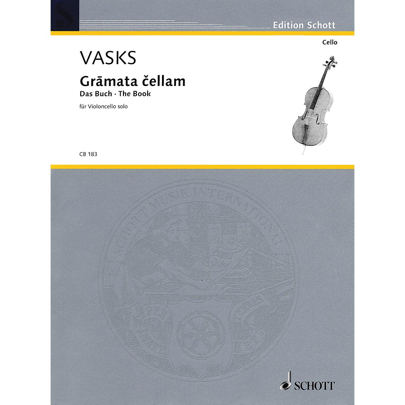 Schott Gramata Cellam (for Violoncello Solo) Schott Series thumbnail