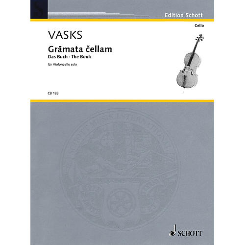 Schott Gramata Cellam (for Violoncello Solo) Schott Series thumbnail