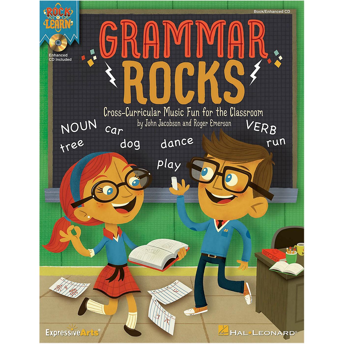 Hal Leonard Grammar Rocks! Enhanced Perf/Accomp CD thumbnail