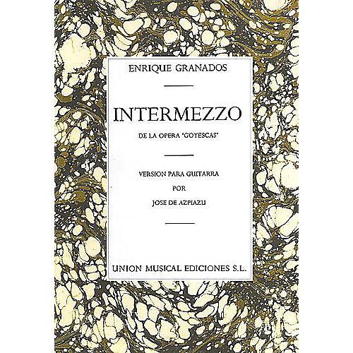 Music Sales Granados Intermezzo From Goyescas (azpiazu) Music Sales America Series thumbnail