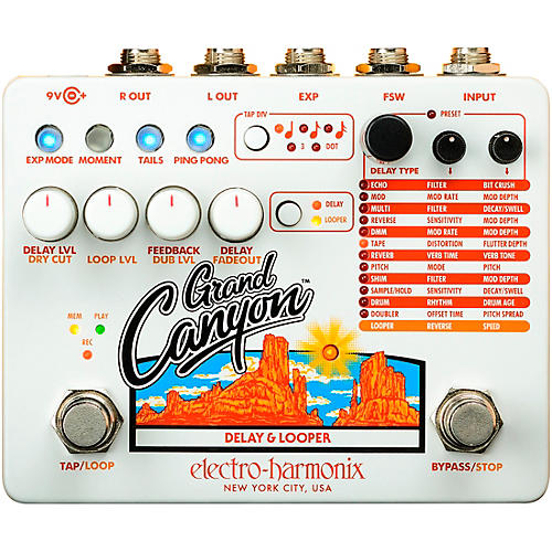 Electro-Harmonix Grand Canyon Delay and Looper Effects Pedal thumbnail