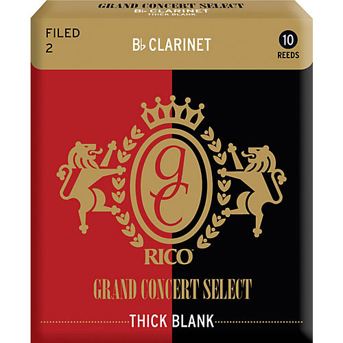 Rico Grand Concert Select Thick Blank Bb Clarinet Reeds thumbnail