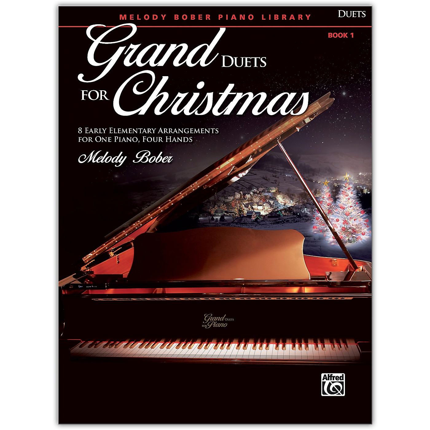 Alfred Grand Duets for Christmas, Book 1 Early Elementary thumbnail