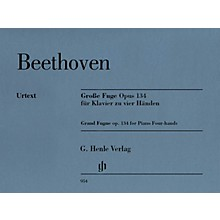 G. Henle Verlag Grand Fugue, Op. 134 Henle Music Folios Softcover by Ludwig van Beethoven Edited by Ernst Herttrich