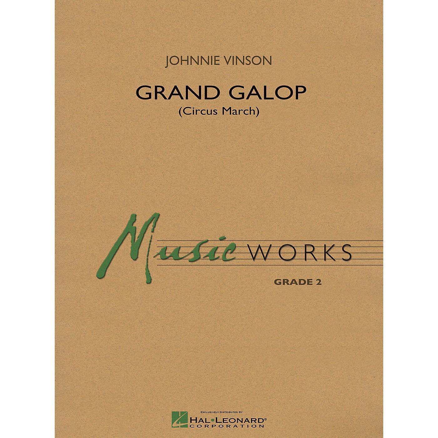 Hal Leonard Grand Galop (Circus March) - Music Works Series Grade 2 thumbnail