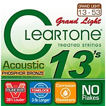 Cleartone Grand Light Phosphor Bronze Acoustic Guitar Strings (13-53)