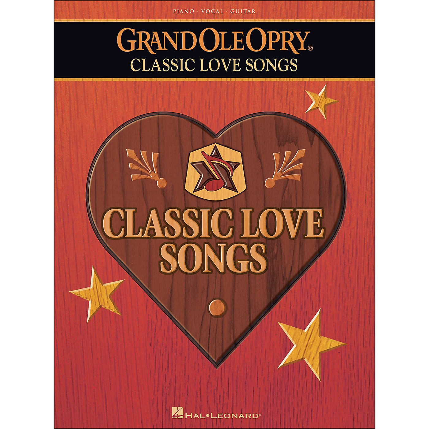 Hal Leonard Grand Ole Opry Classic Love Songs arranged for piano, vocal, and guitar (P/V/G) thumbnail