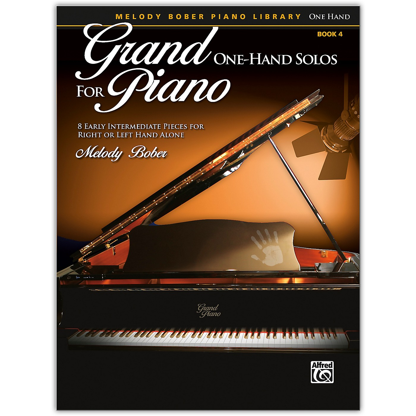Alfred Grand One-Hand Solos for Piano, Book 4 Early Intermediate thumbnail