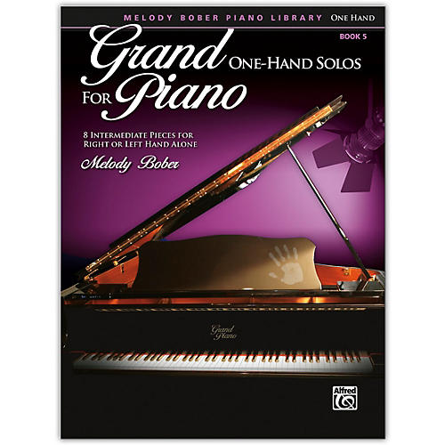 Alfred Grand One-Hand Solos for Piano, Book 5 Intermediate thumbnail