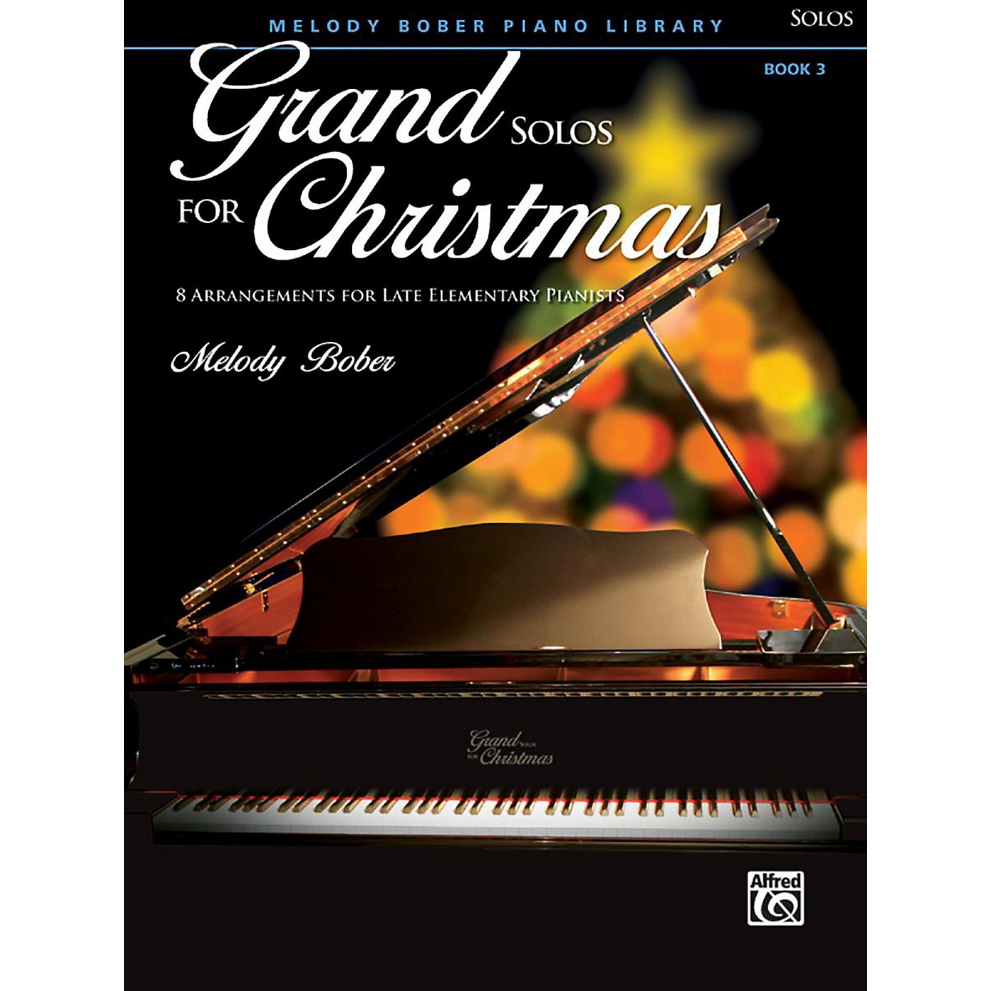 Alfred Grand Solos for Christmas, Book 3 Late Elementary thumbnail