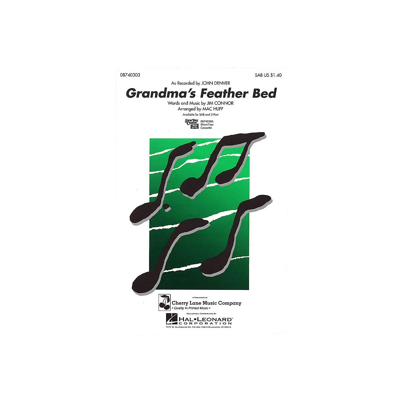 Cherry Lane Grandma's Feather Bed SAB by John Denver arranged by Mac Huff thumbnail