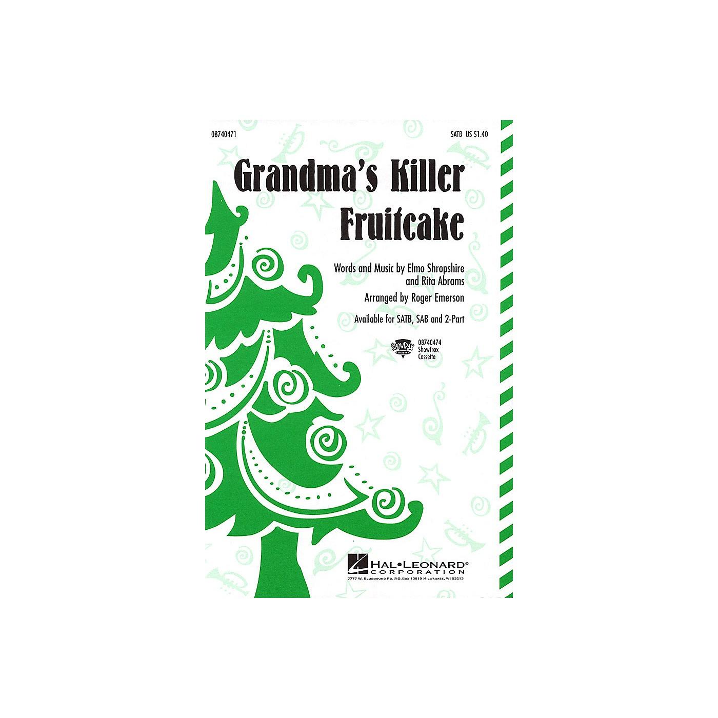 Hal Leonard Grandma's Killer Fruitcake 2-Part Arranged by Roger Emerson thumbnail