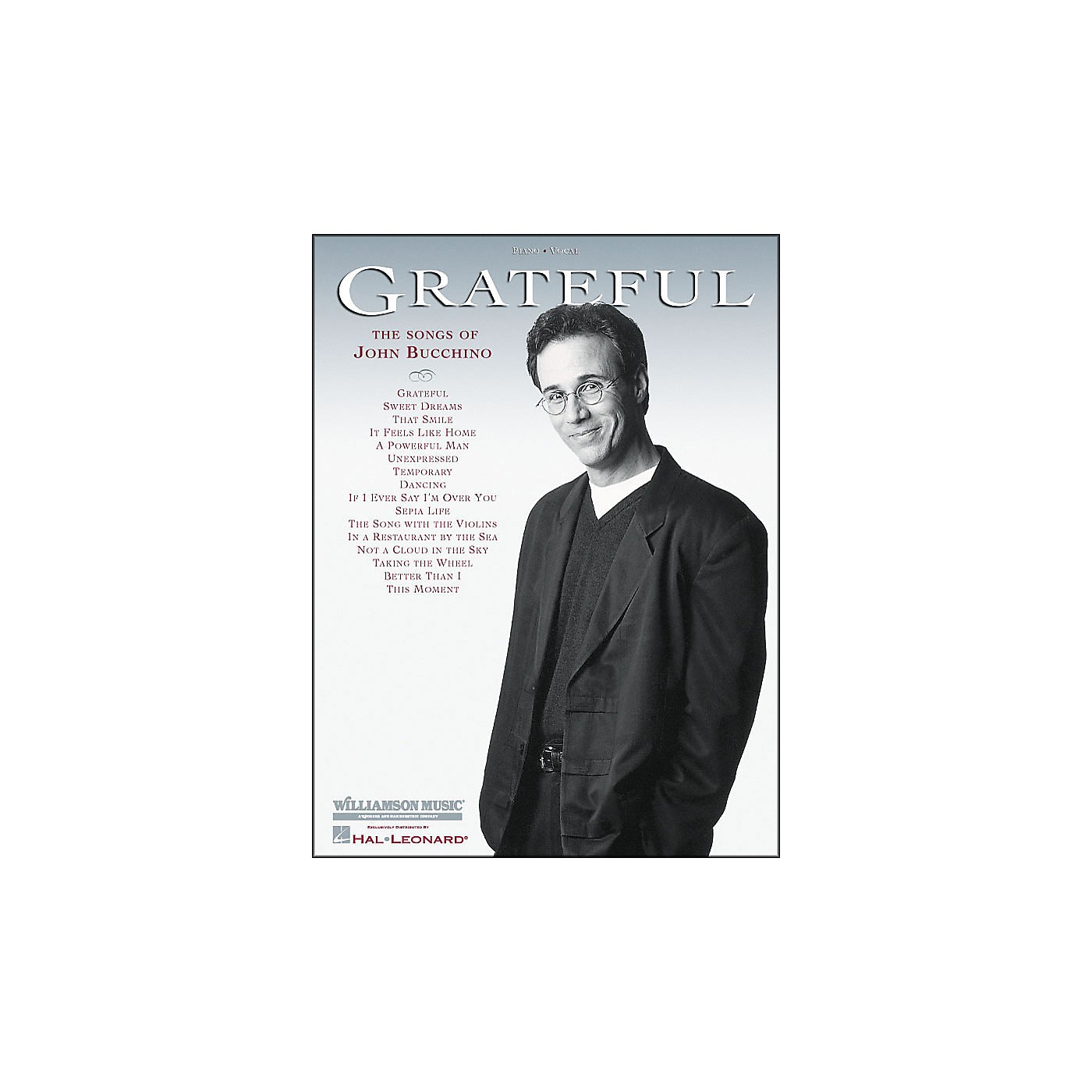 Hal Leonard Grateful - Songs Of John Bucchino arranged for piano, vocal, and guitar (P/V/G) thumbnail