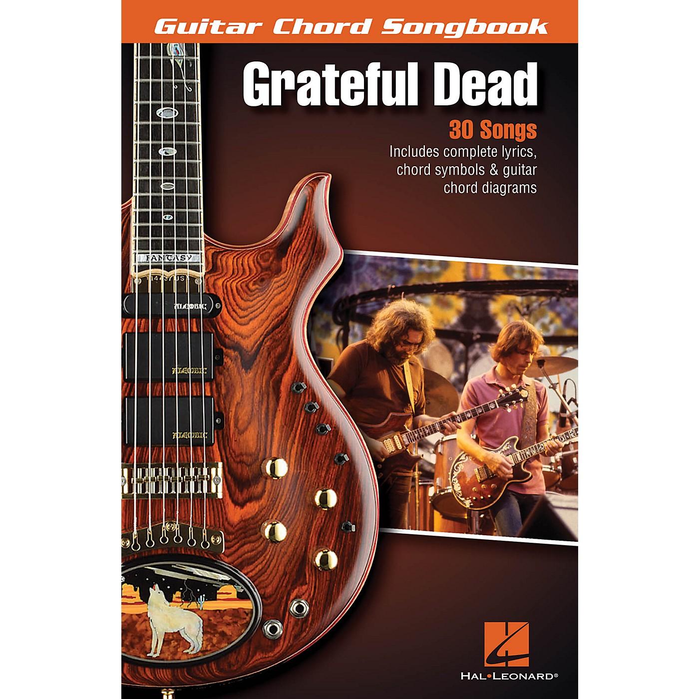 Hal Leonard Grateful Dead - Guitar Chord Songbook Guitar Chord Songbook Series Softcover Performed by Grateful Dead thumbnail