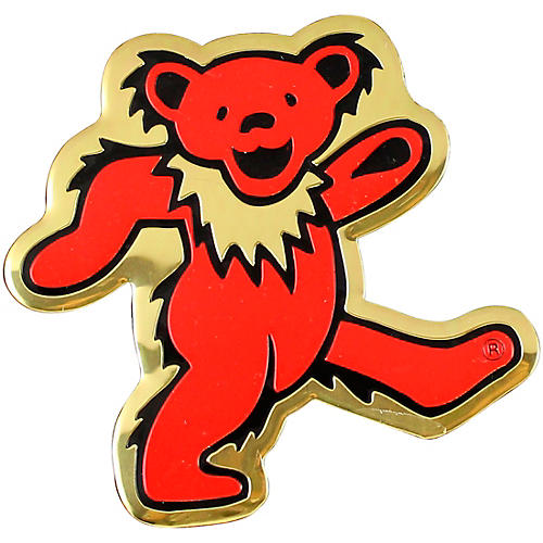 C&D Visionary Grateful Dead Bear Heavy Metal Sticker thumbnail