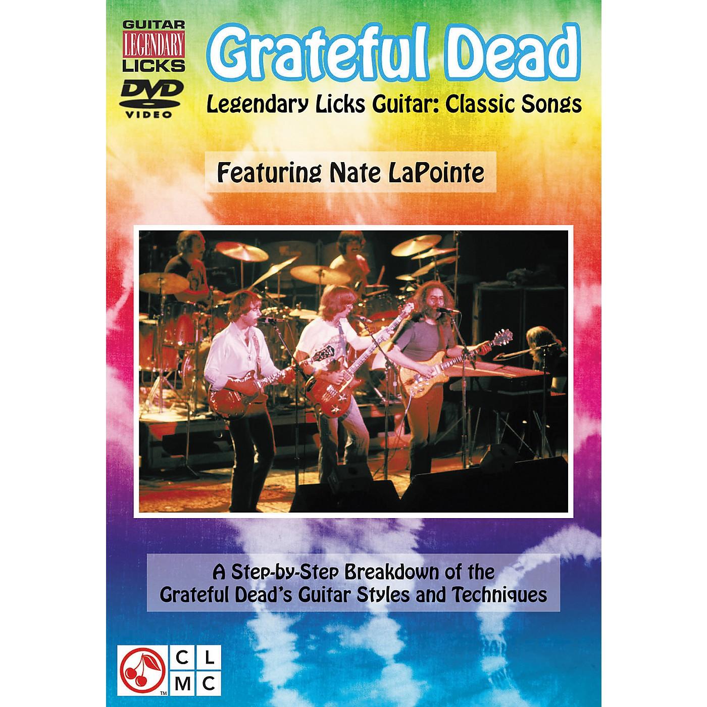 Cherry Lane Grateful Dead Legendary Licks - Classic Songs for Guitar DVD thumbnail