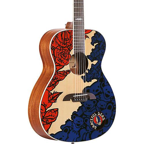 Alvarez Grateful Dead OM Acoustic Guitar thumbnail