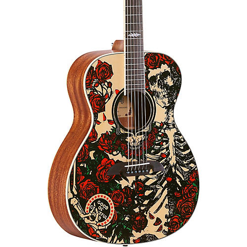 Alvarez Grateful Dead OM Acoustic Guitar thumbnail