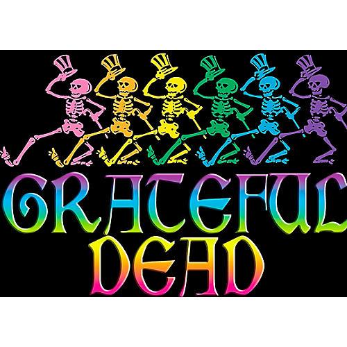 C&D Visionary Grateful Dead Skelly & Rainbow Magnet thumbnail