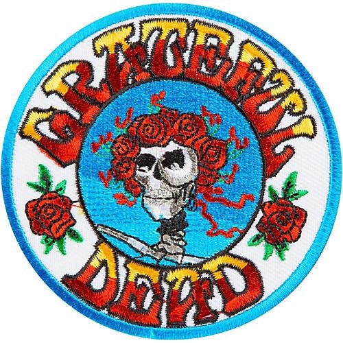 C&D Visionary Grateful Dead Skull & Roses Patch thumbnail