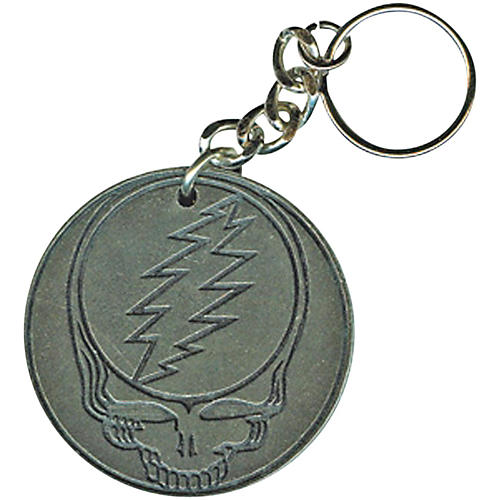 C&D Visionary Grateful Dead Steal Face Metal Keychain-thumbnail