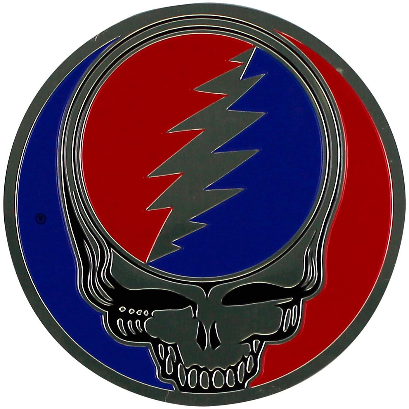 C&D Visionary Grateful Dead Steal Your Face Heavy Metal Sticker thumbnail