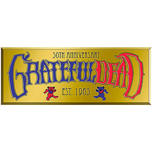 C&D Visionary Grateful Dead Text Heavy Metal Sticker thumbnail