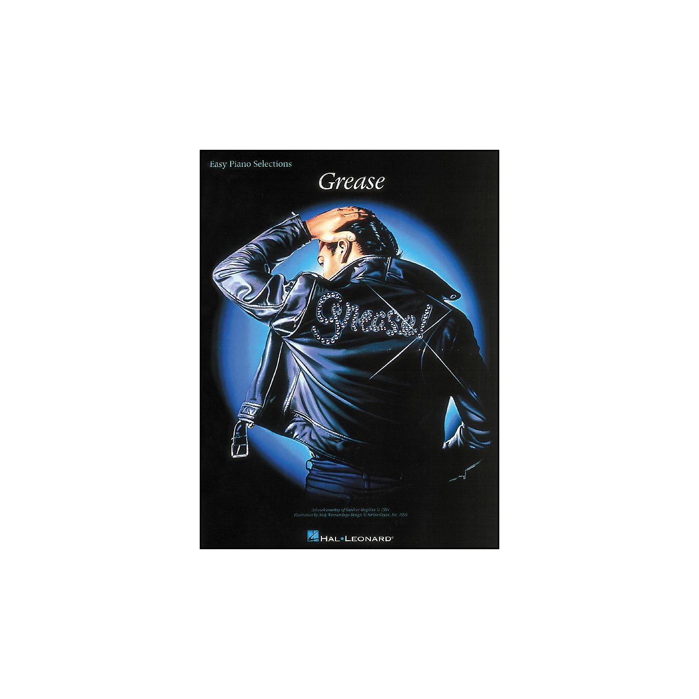 Hal Leonard Grease: Easy Piano Selections Songbook thumbnail
