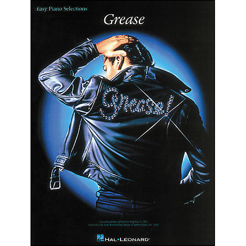 Hal Leonard Grease: Easy Piano Selections Songbook thumbnail