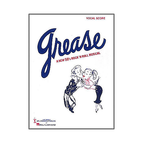 Hal Leonard Grease Vocal Score Songbook-thumbnail