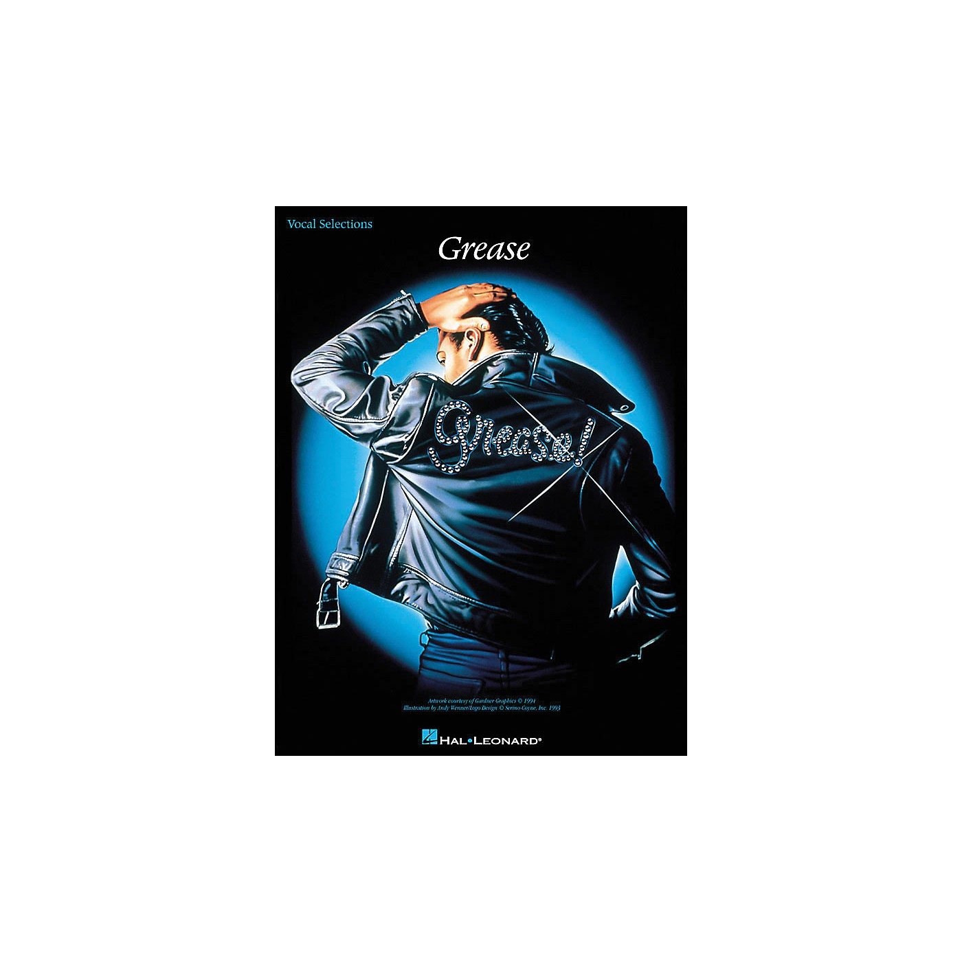 Hal Leonard Grease arranged for piano, vocal, and guitar (P/V/G) thumbnail