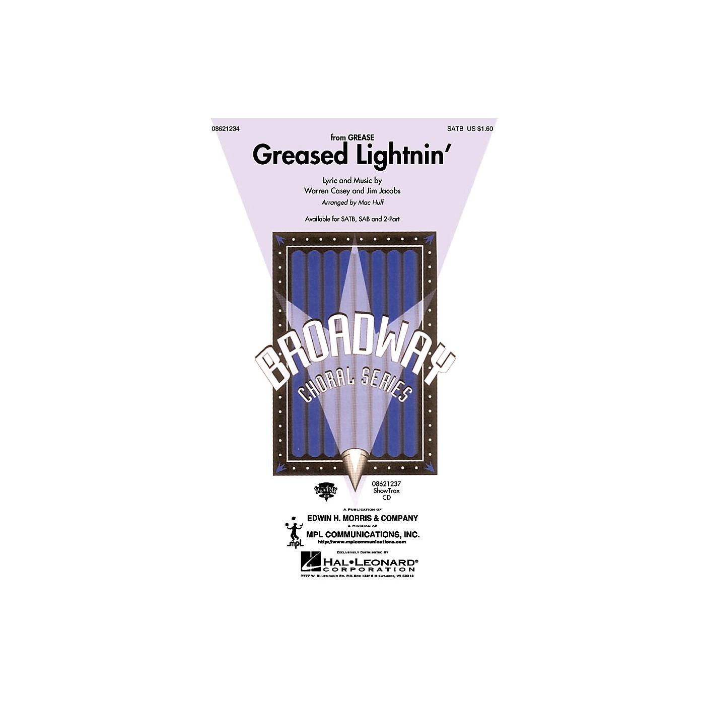 Hal Leonard Greased Lightnin' (from Grease) (SATB) SATB arranged by Mac Huff thumbnail
